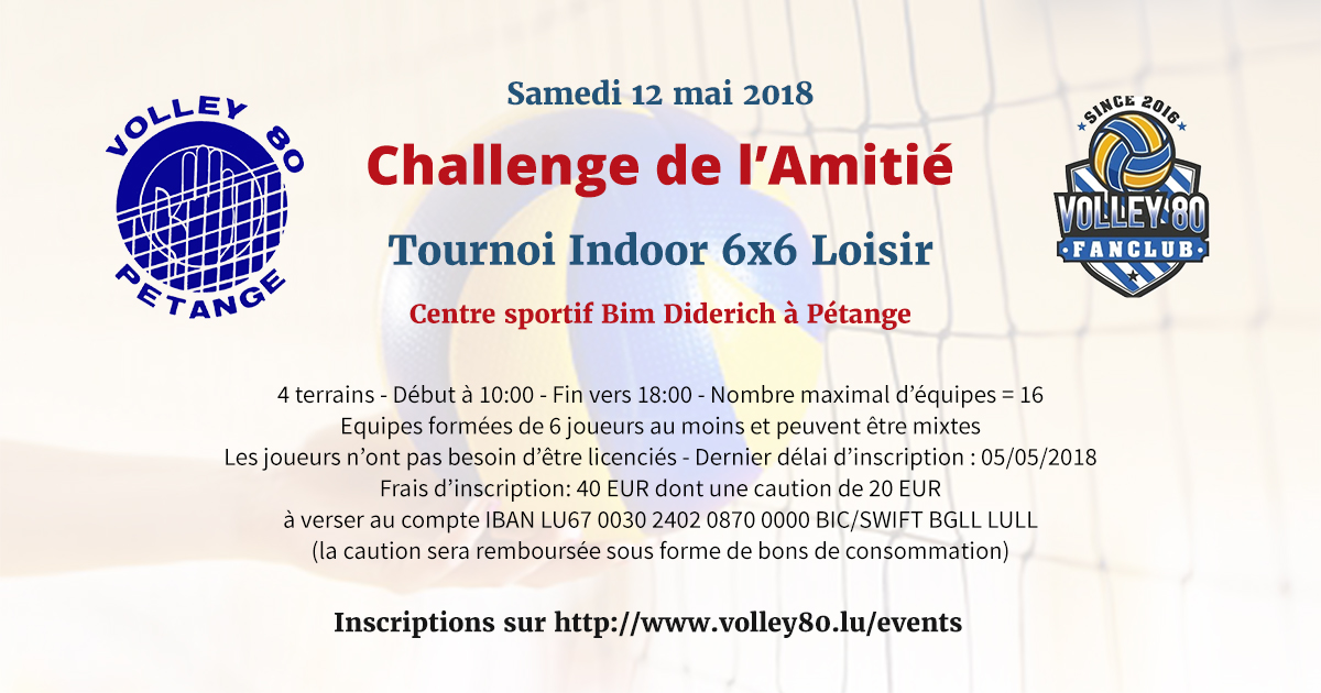 2018 tournoi loisir resumed