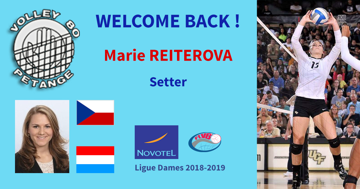 welcome back marie