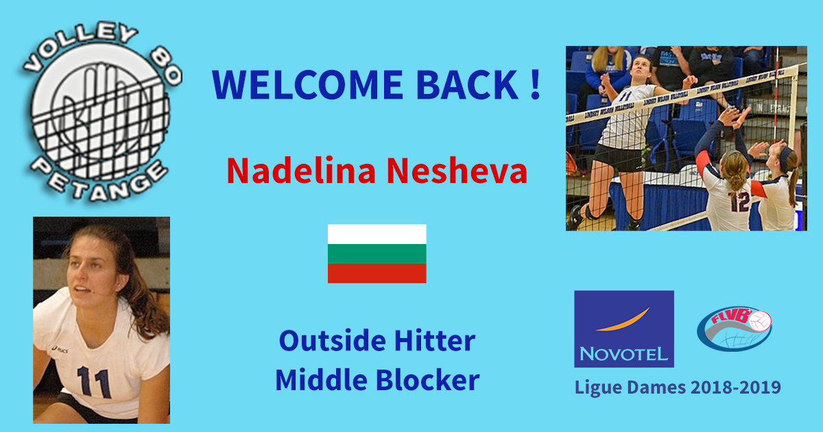 welcome back nadelina
